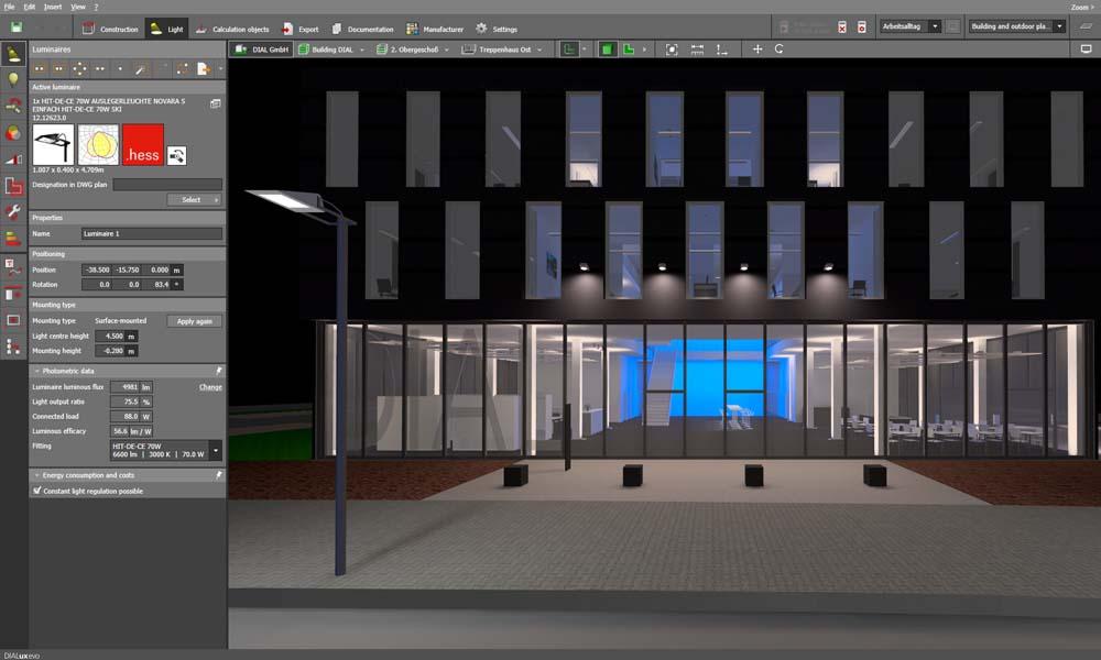 Dialux Lighting Design Software